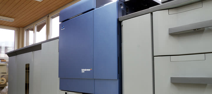 Bizhub Press C8000 von Konica Minolta