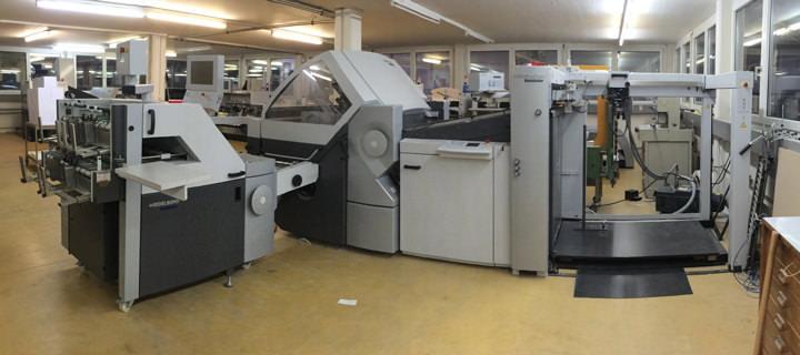 Heidelberg Falzmaschine KH82